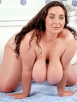 Huge mellons missie nancy gets melon shagged and covered in cum.